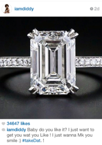 Diddy-buys-Cassie-a-ring