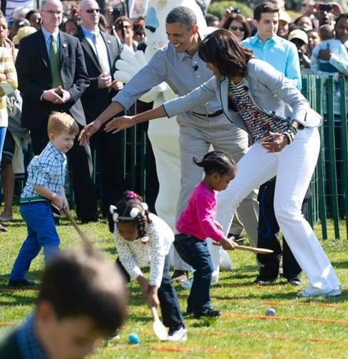 michelle obama easter egg