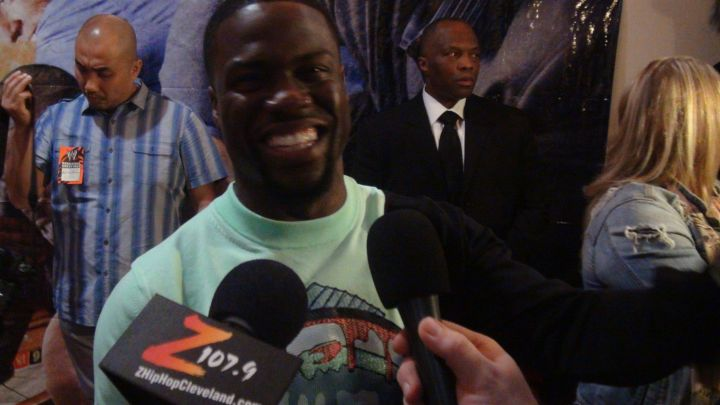 Kevin Hart Premires #ThinkLikeAManToo In Cleveland [Photos]