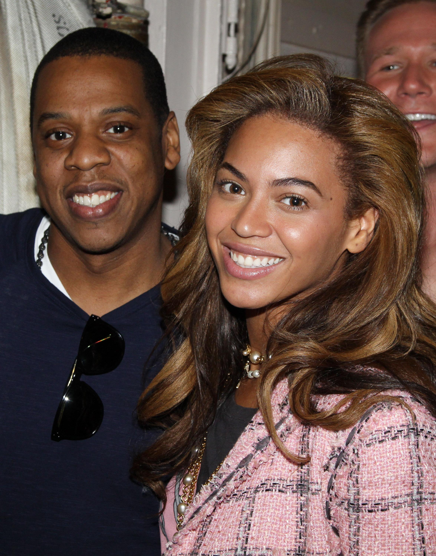 Celebrities Visit Broadway - April 3, 2010