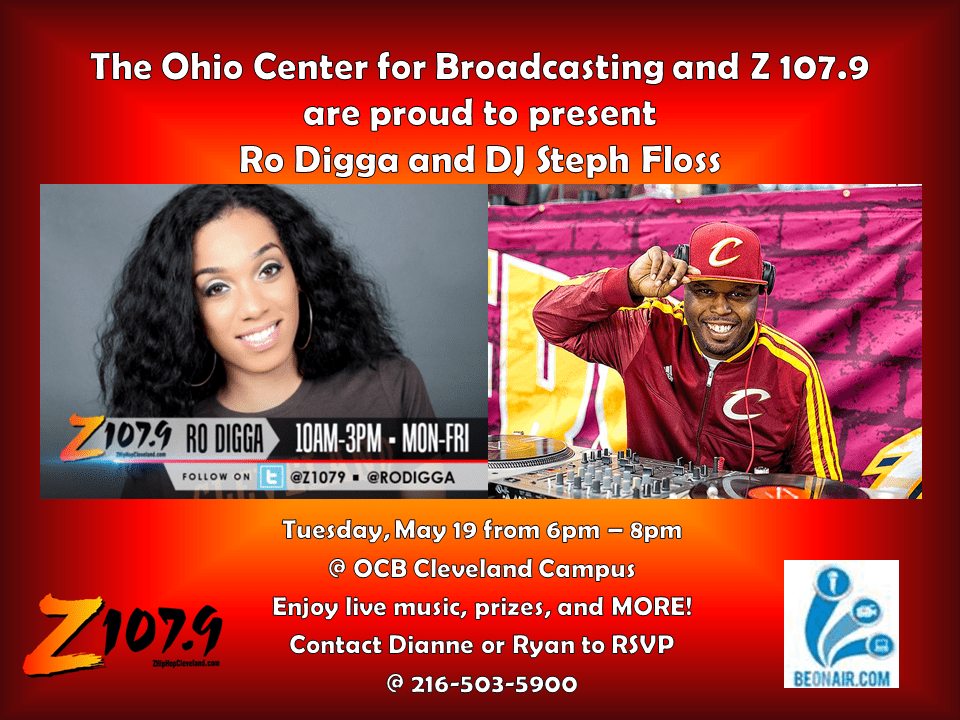 Ohio Center For Broadcasting Open House May 19th