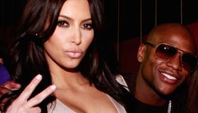 Kim Kardashian & Floyd Mayweather Jr. 2011