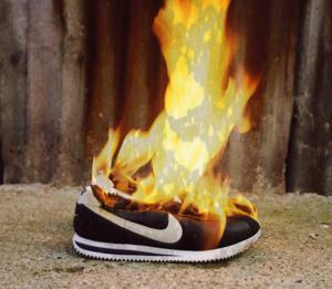 burning-sneakers