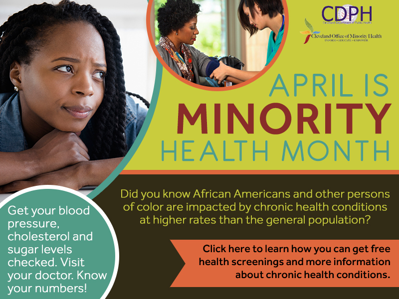 April is Minority Health Month