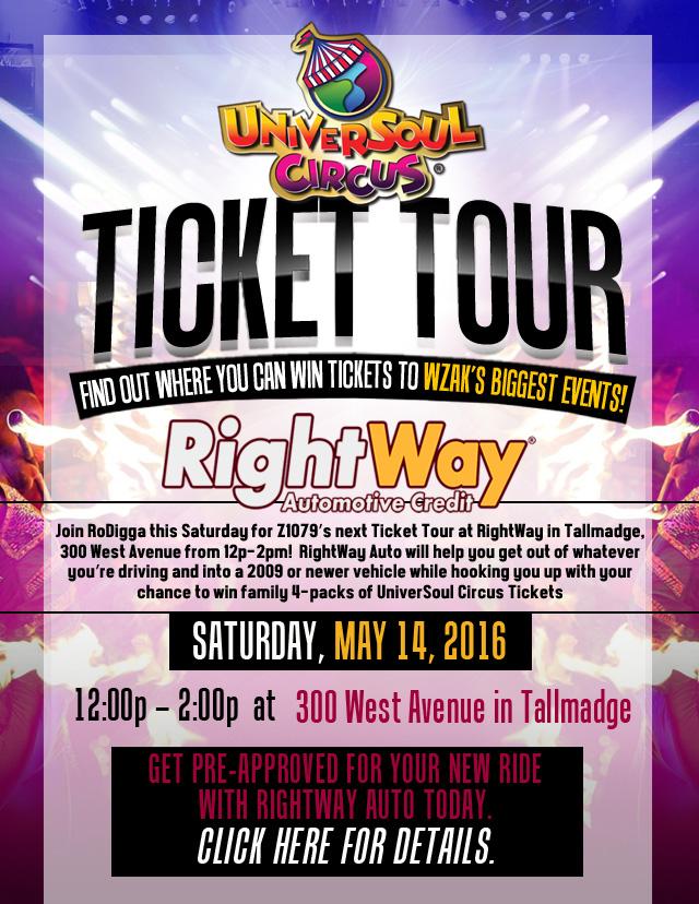 Universoul Ticket Tour