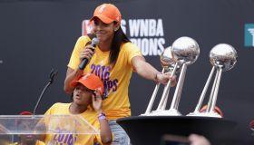 LA Sparks 2016 WNBA Championship Celebration