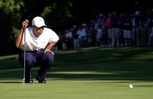 Tiger Woods at the World Golf Championship-NEC Invitational