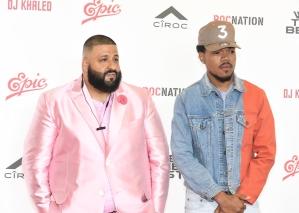 DJ Khaled Holds Special Press Conference