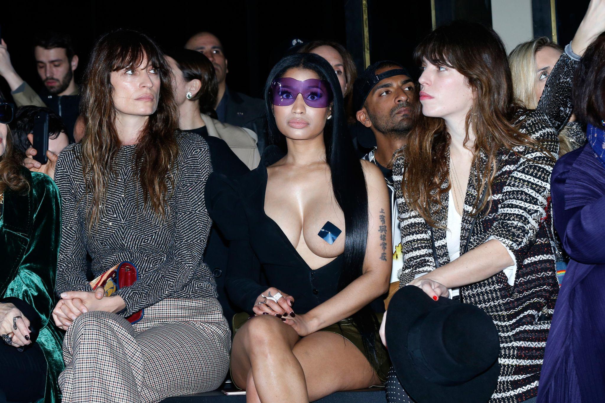 Nicki Minaj Exposes Herself To The Camera!   Z 107.9