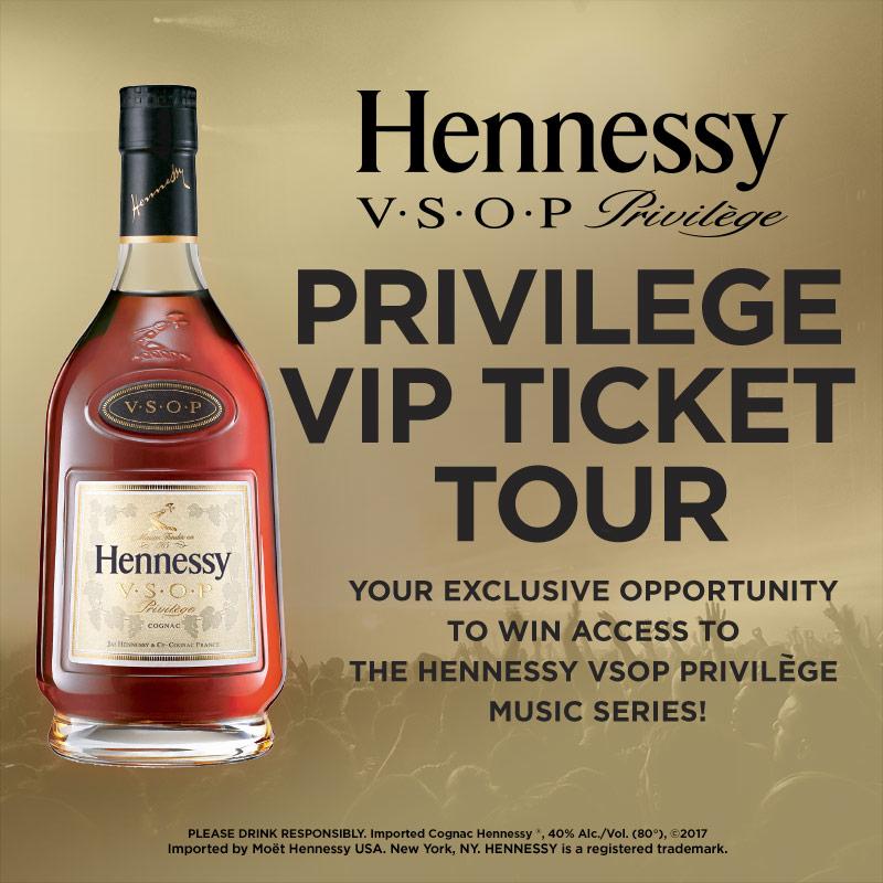Hennessy V.S.O.P VIP Ticket Tour
