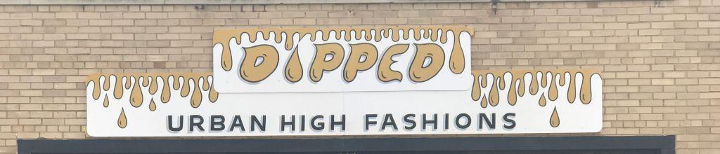 Dipped Urban High Fashion