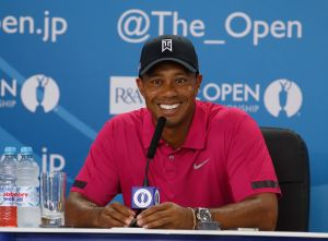 Golf: The Open Championship - Practice Round