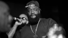 Rick Ross Hosts Gold Room