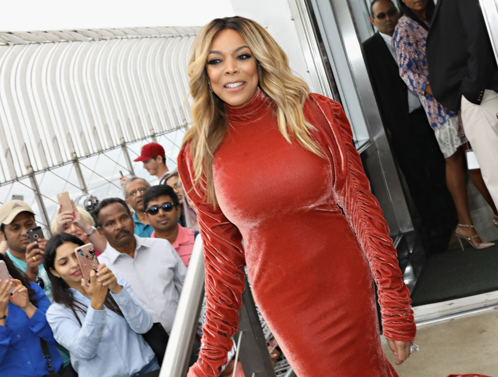 Wendy Williams Visits The Empire State Building
