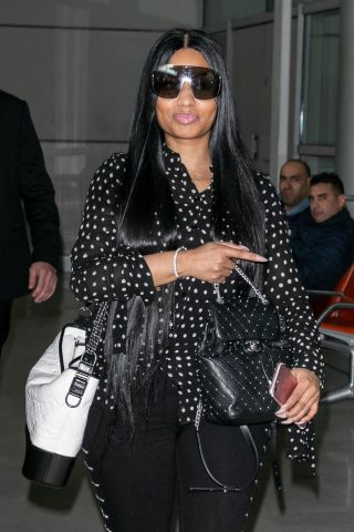 Nicki Minaj Sighting In Paris - April 4, 2018