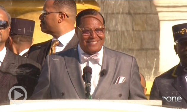 NewsOne Now Exclusive: Excerpts From Minister Louis Farrakhan's Justice Or Else Address