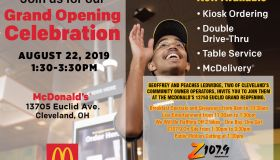 McDonalds Regrand opening