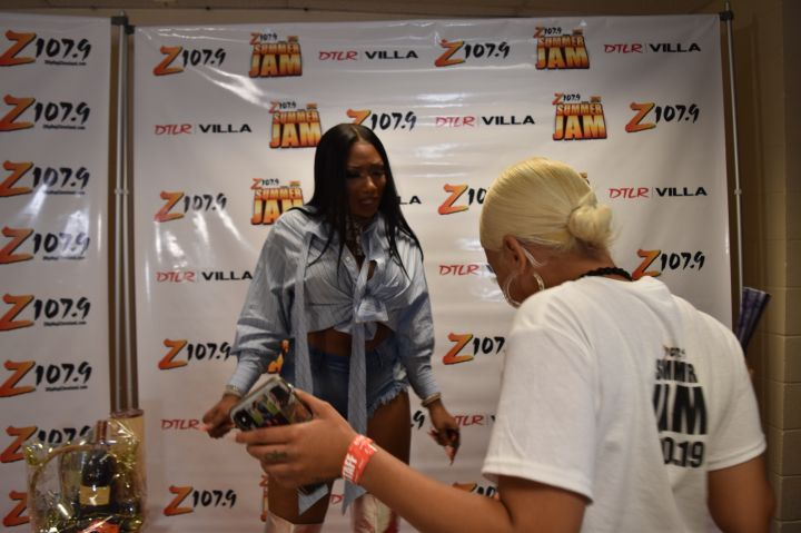 Z107.9 Summer Jam Megan the Stallion Meet and Greet
