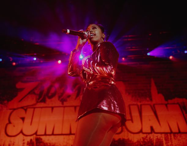 Kash Doll at Z107.9 Summer Jam