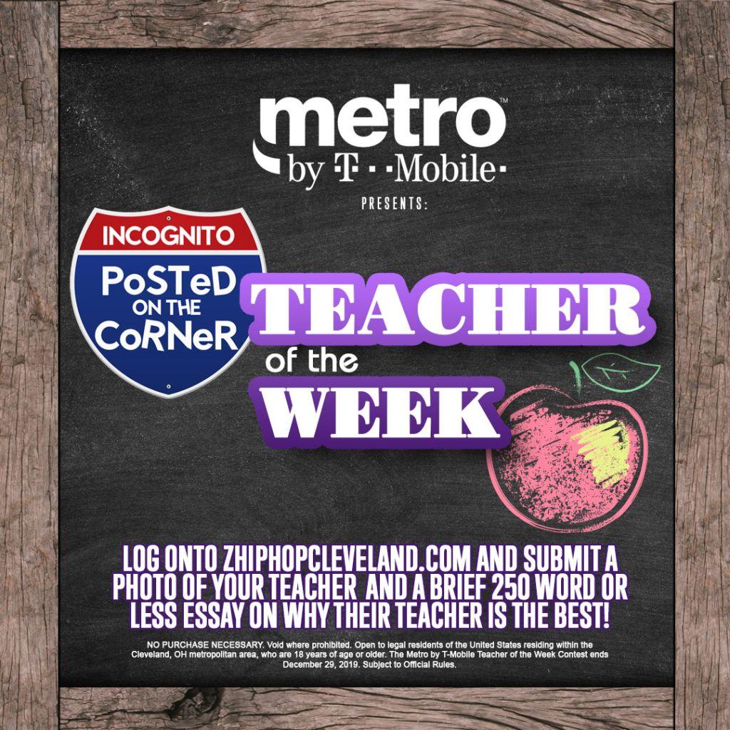POTC Teacher of the Week