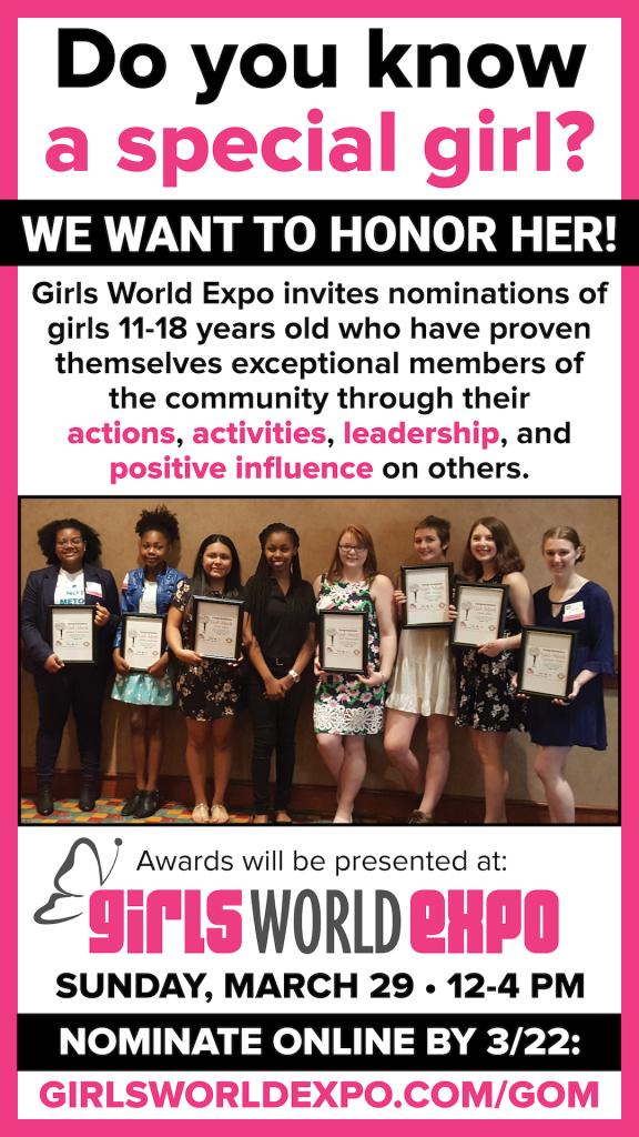 Girls World Expo Girls of Merit 2020