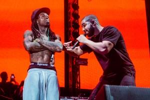 Drake & Lil Wayne Performing