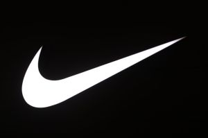 Logo of Nike is seen at Galeria Shopping and Entertainment...