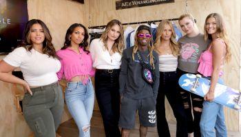 Lil Wayne Denise Bidot American Eagle Launch