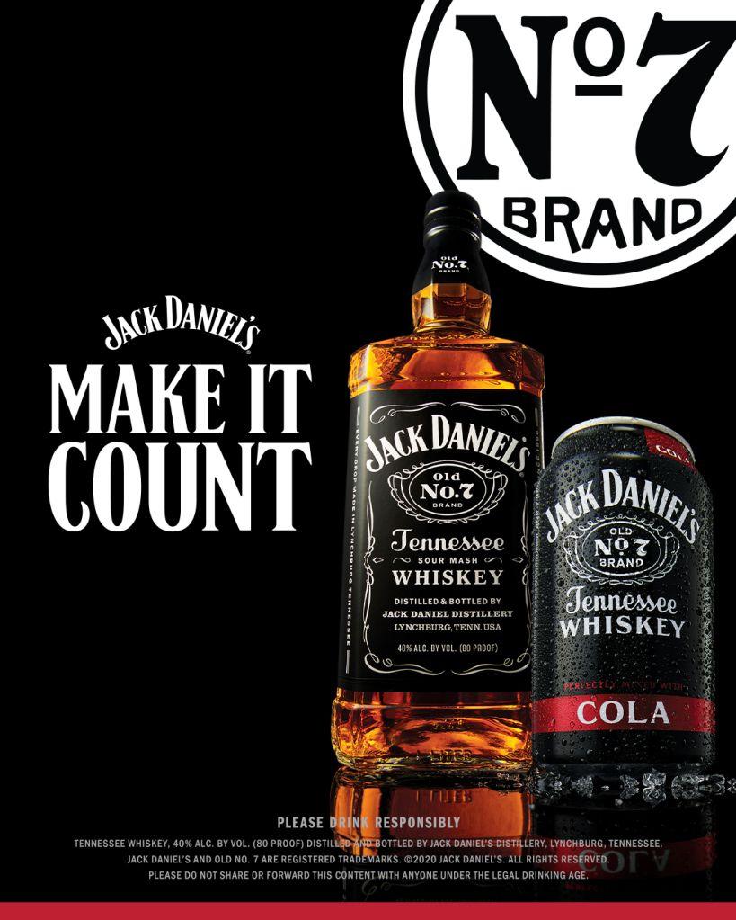 Jack Daniel's Make it Count Campaign