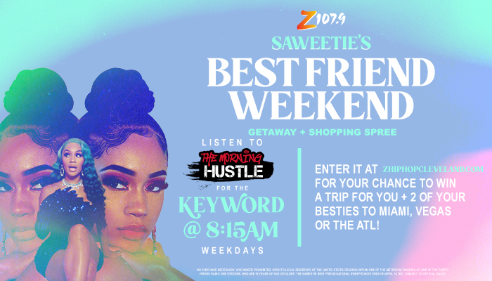 SAWEETIE Best Friend National Sweepstakes_March 2021