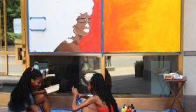 Columbus Protest Art for George Floyd