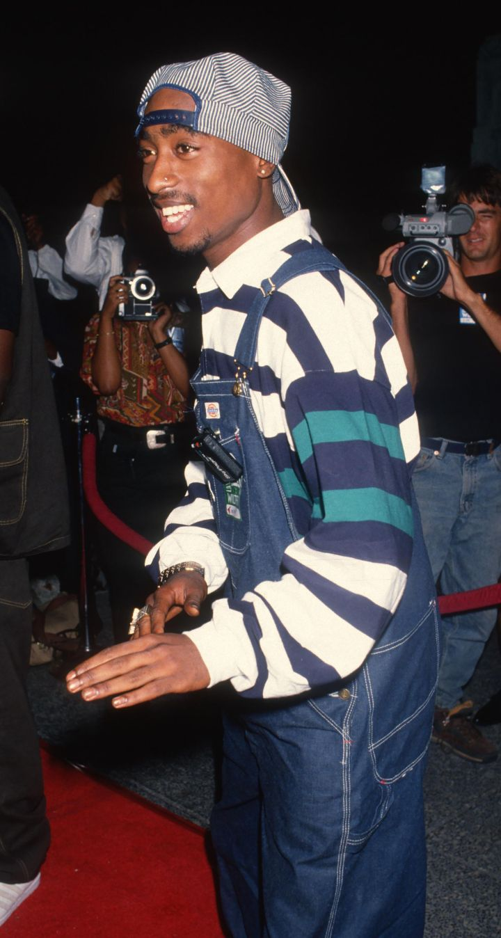 Pac attends Minority Motion Picture Awards in 1993