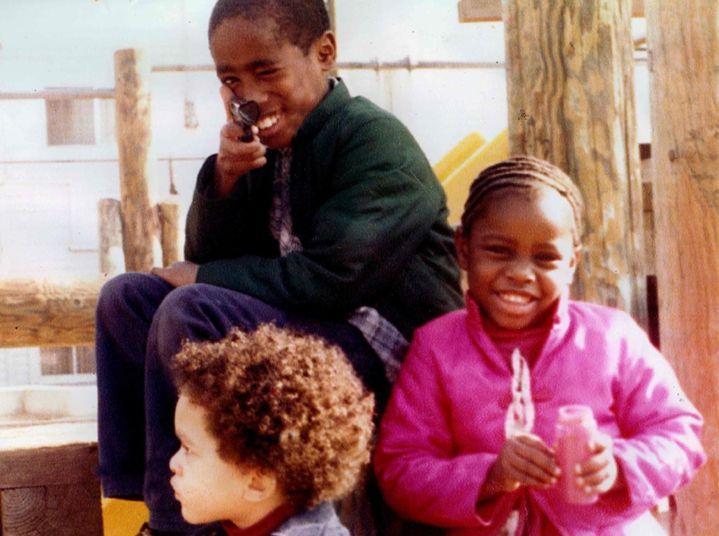 Tupac Shakur when he was a kid