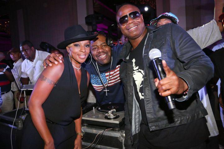 Mary J Blige, Biz Markie & Doug E Fresh - 2014 Essence Music Festival