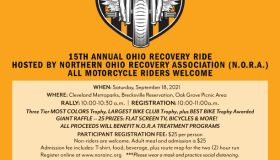 Northern OH Recovery Association Recovery Ride 2021