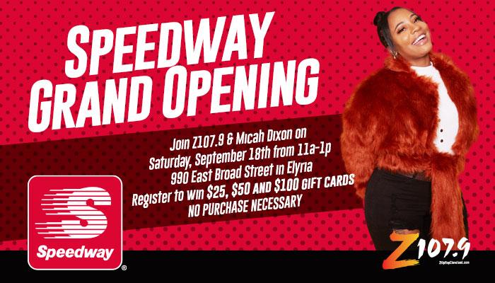 Speedway Grand Opening 9/18/21
