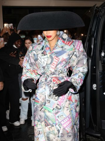 Celebrity Sightings In PARIS - October 2, 2021
