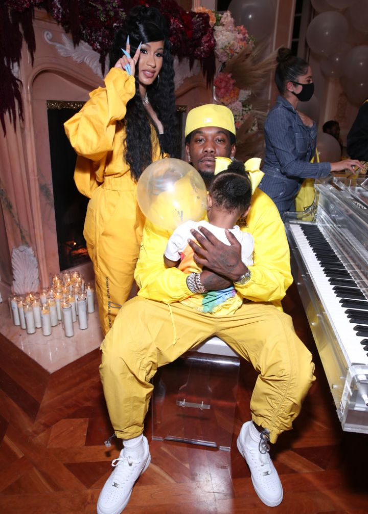 """Cardi & The Fam at Teyana Taylor's """"The Album"""" Listening Party"""